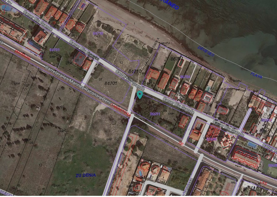 Photo  number 5: Land / Ground in Sale in Denia, Area Marinas, Sector Deveses. Ref. 5-18-14899 (CB-71411-0001)